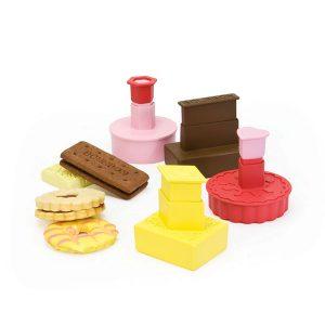 Dexam Classic British Biscuit Cutters - Set of 4