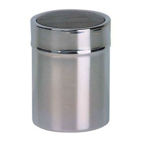 Dexam Farringdon Mesh Top Shaker, Stainless Steel