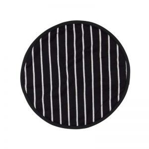 Rushbrookes Butcher's Stripe Hob Cover - Navy