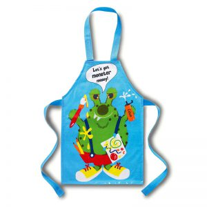 Cooksmart Kids Monster PVC Apron