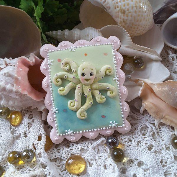 Octopus Sugar Buttons Silicone Mould Katy Sue Designs-81985