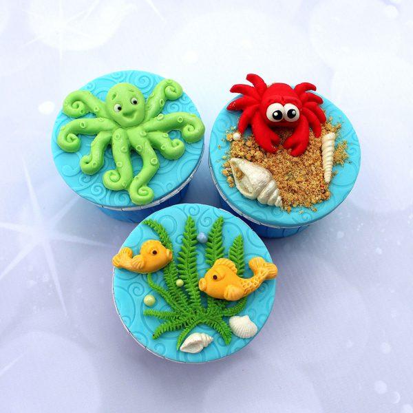 Octopus Sugar Buttons Silicone Mould Katy Sue Designs-81986