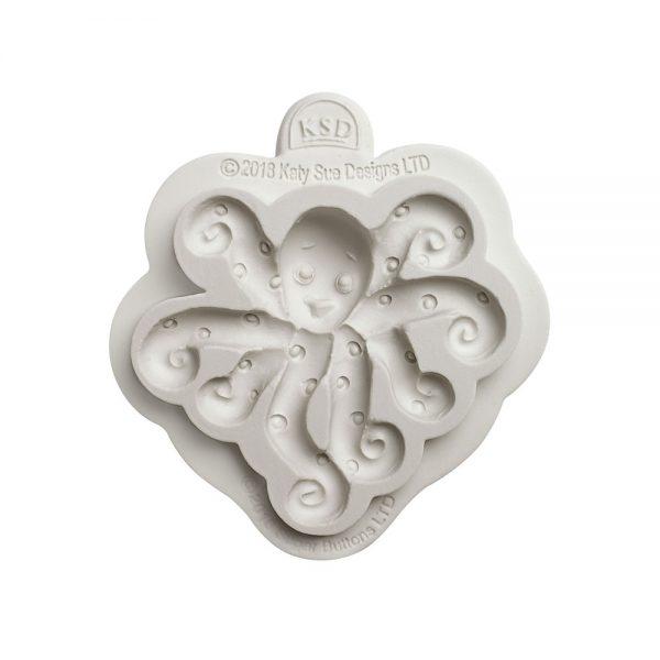 Octopus Sugar Buttons Silicone Mould Katy Sue Designs-81983