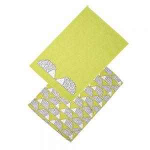 Scion Living Spike Set of 2 Tea Towels - Green