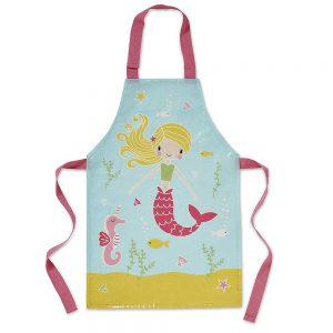 Childrens Mermaid PVC Apron By Cooksmart-0