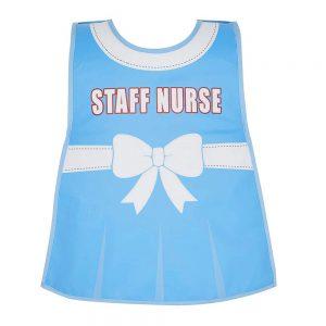 Childrens Apron Tabard Nurse in Soft PEVA vinyl from Cooksmart -0
