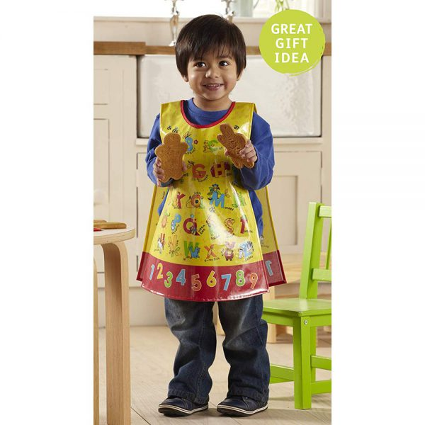 Childrens Apron Tabard ABC Style in PVC from Cooksmart -82172