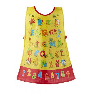 Childrens Apron Tabard ABC Style in PVC from Cooksmart -0