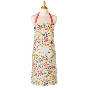 Adults Apron Cotton BEE HAPPY Design 100% Cotton from Cooksmart -0