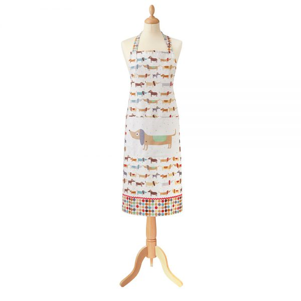 Hot Dogs Cotton Apron by Ulster Weavers -0