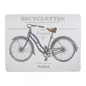 Creative Tops Bicycle Pack Of 6 Premium Placemats-0