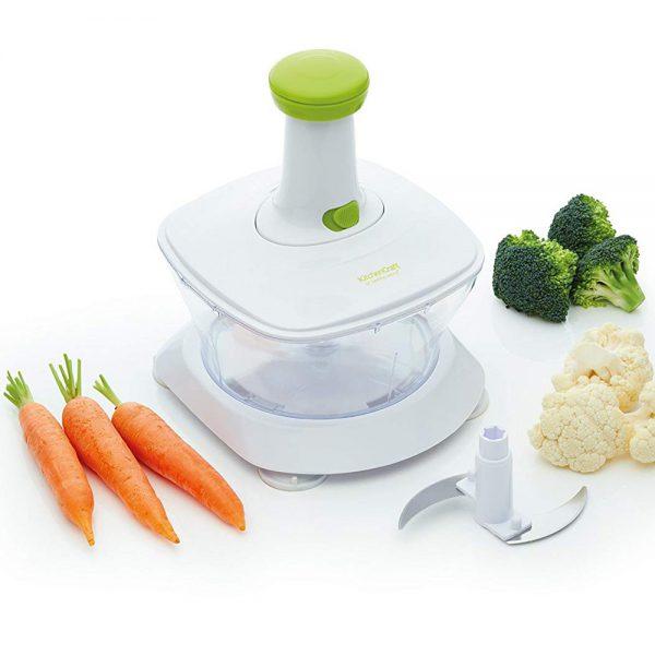KitchenCraft Healthy Eating 'Rice 'n' Slice' Food Processor-79388