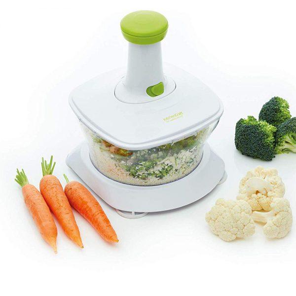 KitchenCraft Healthy Eating 'Rice 'n' Slice' Food Processor-79390