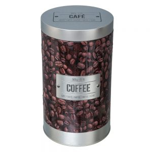 Embossed Coffee Canister from the Larder Collection by 5five Simply Smart-0