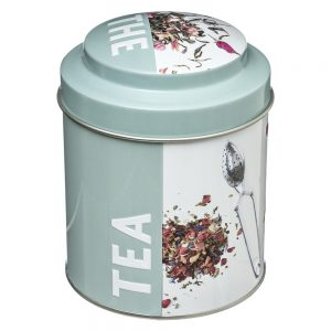 Embossed Tea Caddy from the Pantry Collection by 5five Simply Smart-0