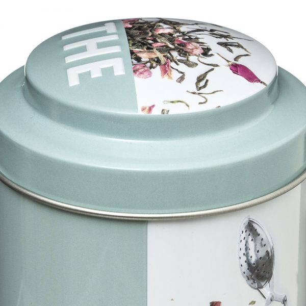Embossed Tea Caddy from the Pantry Collection by 5five Simply Smart-79687