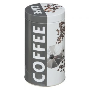 Coffee Canister Embossed from the Pantry Collection by 5five Simply Smart-0