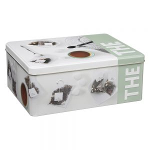 Tea Bag Box with Divider from the Pantry Collection Embossed by 5five Simply Smart-0