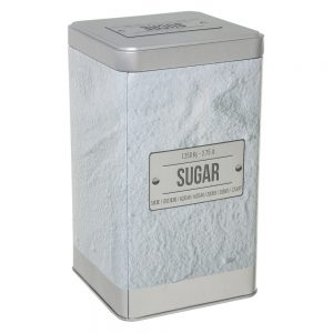 Embossed Sugar Canister from the Larder Collection by 5five Simply Smart-0