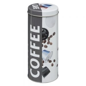 Embossed Coffee Capsule/Pod Canister from the Pantry Collection by 5five Simply Smart-0