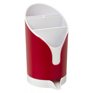 Cutlery Drainer Red by 5five - Simply Smart-0
