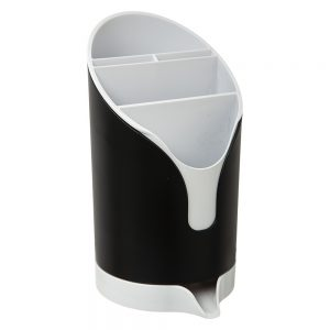 Cutlery Drainer Black by 5five - Simply Smart-0