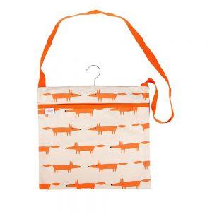 Scion Living Mr Fox Wipe Clean Peg Bag - Stone-0