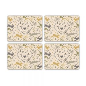 Woodland Set of 4 Placemats by Cooksmart-0