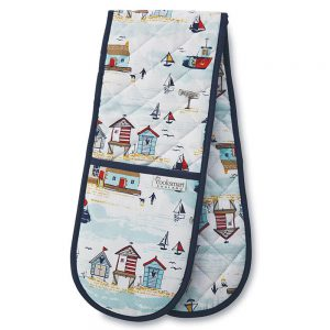 Beside The Seaside Double Oven Glove from Cooksmart-0