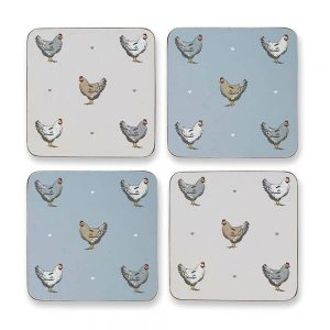Farmers kitchen Pack of 4 Coasters Cooksmart-0