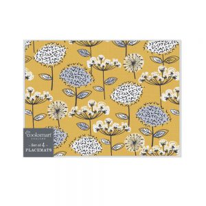 Retro Meadow Set of 4 Placemats from Cooksmart-0