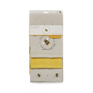 Tea Towels BUMBLE BEES 3 Pack from Cooksmart -0