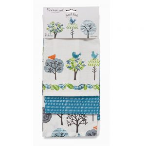 Pack of 3 Tea Towels FOREST BIRDS from Cooksmart -0
