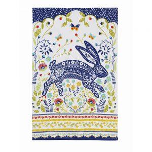 Ulster Weavers Woodland Hare Cotton Tea Towel-0