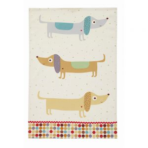 Hot Dog Cotton Tea Towel by Ulster Weavers -0