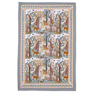 Cotton Tea Towel Wildwood Design by Ulster Weavers-0