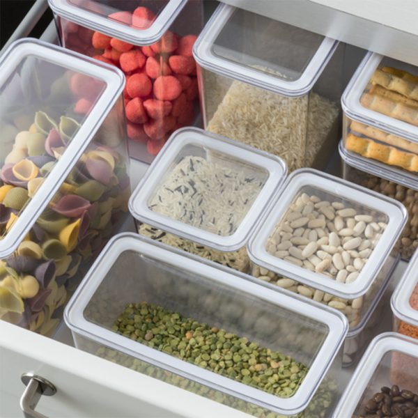 Eske 1L Airtight Food Storage Container Box 1000ml Set of 2-82757