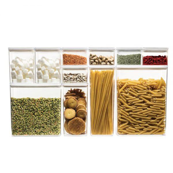 Eske 1L Airtight Food Storage Container Box 1000ml Set of 2-82746