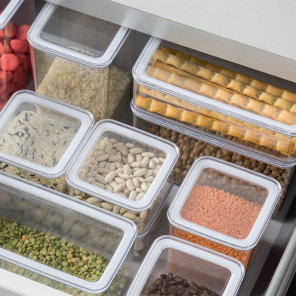 Eske 1L Airtight Food Storage Container Box 1000ml Set of 2-82759