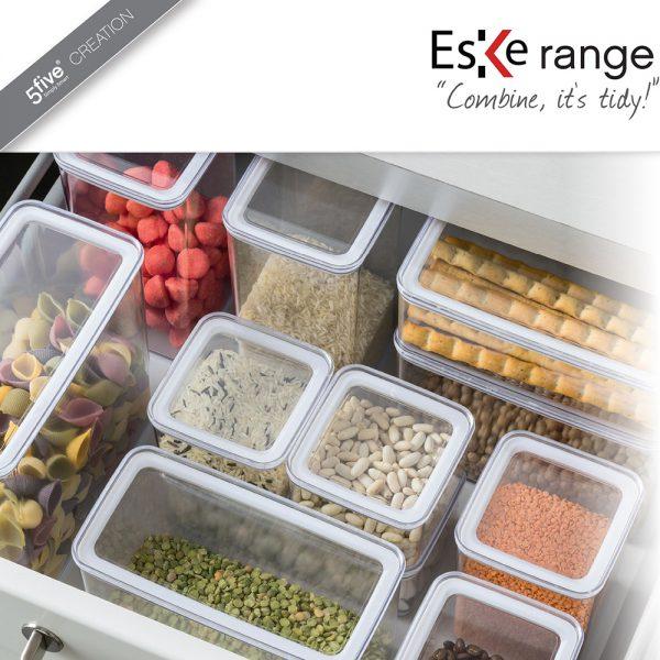 Eske 1L Airtight Food Storage Container Box 1000ml Set of 2-82758